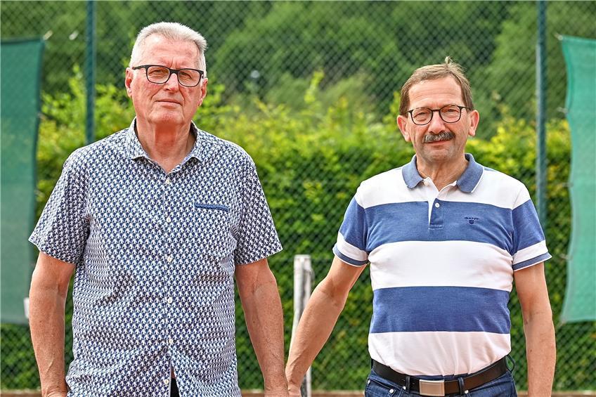 Charly Kommer und Bodo Friederich